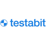 Logo testabit blue
